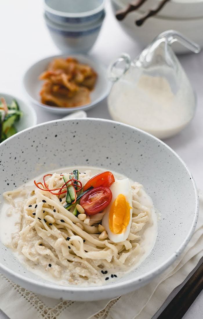 Korean Pine Nut Kalguksu