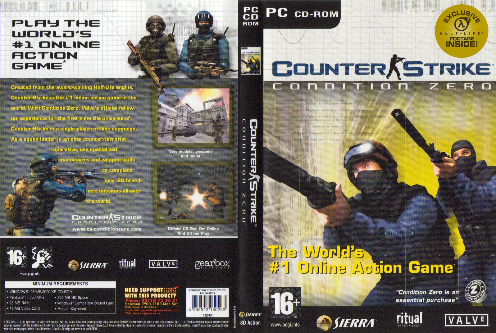 Download Game Ringan Counter Strike: Condition Zero