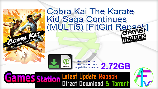 Cobra Kai The Karate Kid Saga Continues (MULTi5) [FitGirl Repack]