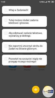 Xiaomi MIUI 11 Aplikacja Notatki