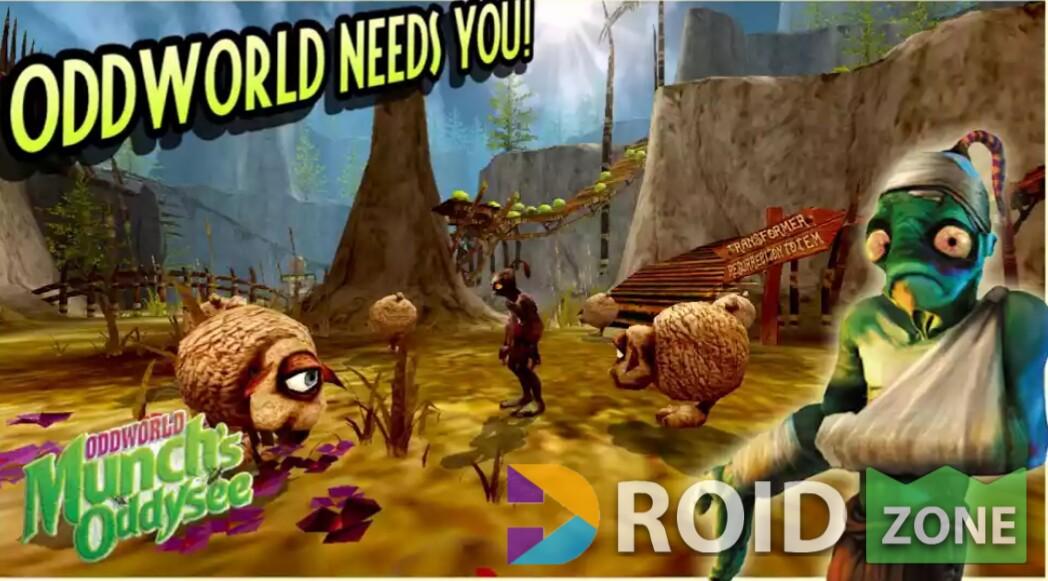 Oddworld: Munch's Oddysee Mod Apk v1.0.3 + Data - Droid Zone28