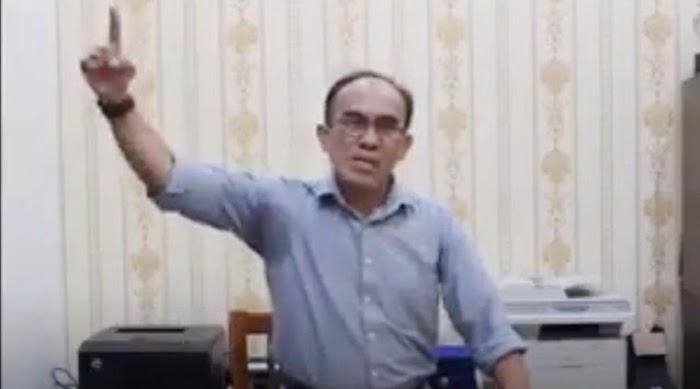 Klarifikasi Seruan Perang Lawan FPI, Tagor Aruan Minta Maaf