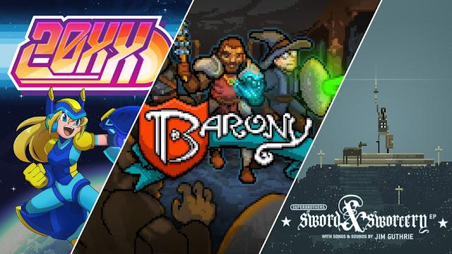 Game 20XX, Barony dan Superbrothers Gratis dari Epic Games