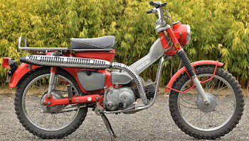 Honda CT90 Average Mileage (1971) - Per Liter, Kmpl & More