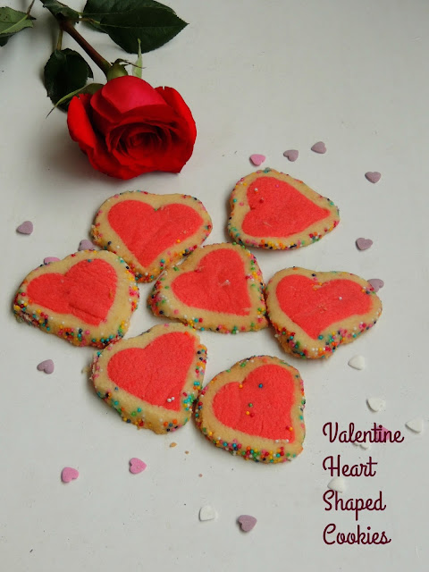 Valentine heart shaped cookies, Heart shaped cookies
