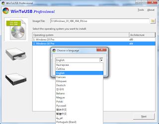 Cài windows trên USB thật dễ với WintoUSB