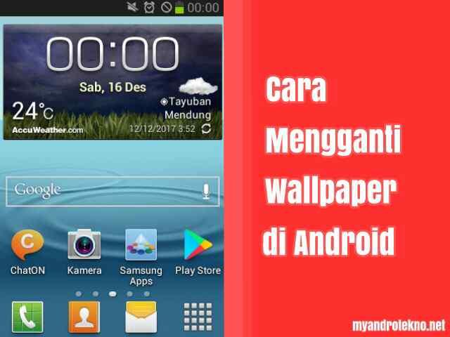 Cara Mudah Mengganti Wallpaper di Android