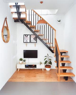inspirasi desain tangga rumah minimalis yang lagi trend