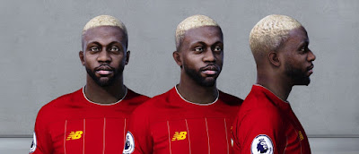 PES 2020 Faces Divock Origi by Owen31