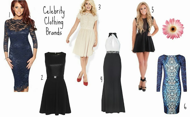 Celebrity Clothing Brands