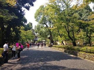 l'ingresso al tempio Kinkakuji