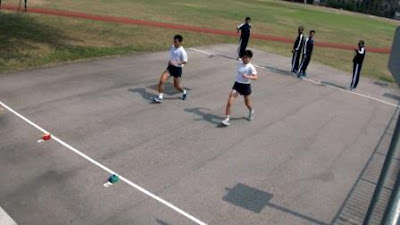 Shuttle Run Agility Test to Measure Change Direction Ability
