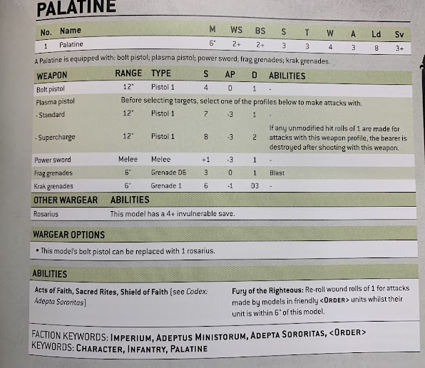 Hoja de datos Palatina