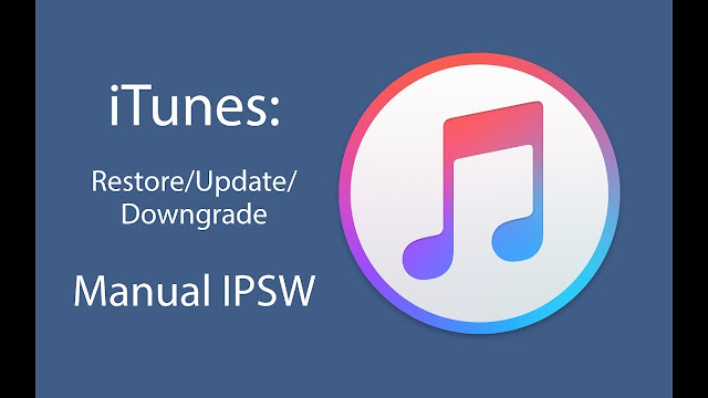 How to manually install iOS IPSW Firmware using iTunes