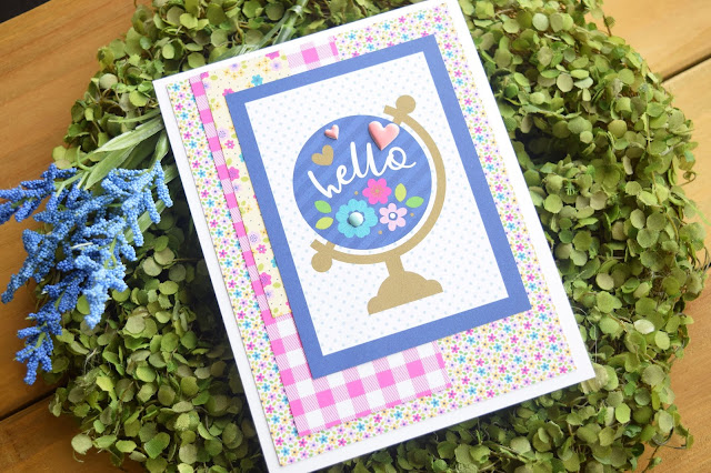 35 Cards with Doodlebug Designs Hello Card 6x6 Paper Pad