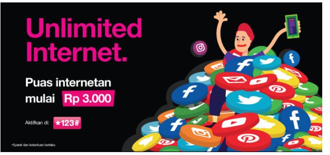 Paket Internet Unlimited Tanpa Kuota