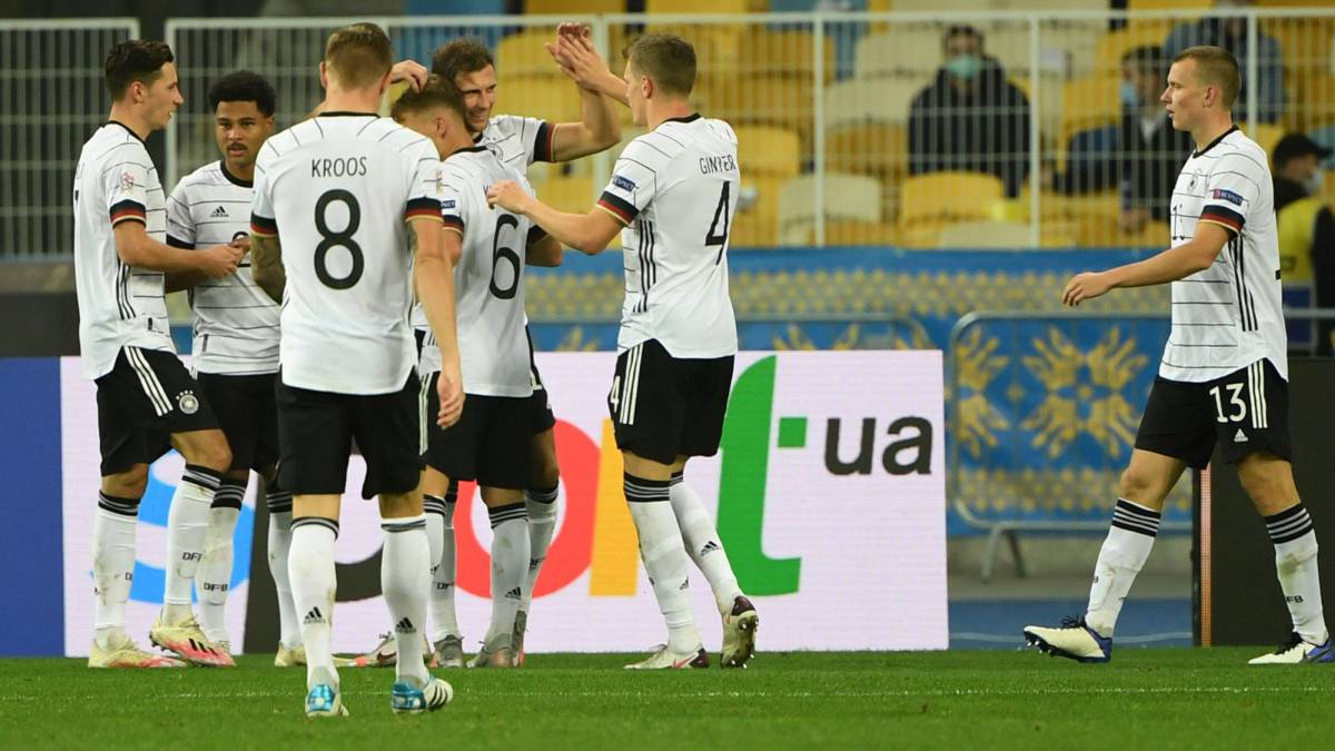 Ucrania Alemania UEFA Nations League
