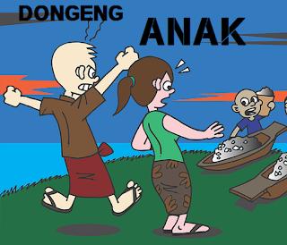 cerita dongeng rakyat anak legenda nusantara danau toba