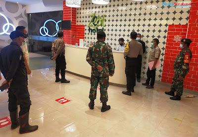 Tiga Pilar Surabaya Intensifkan Pengawasan Protokol Kesehatan di Hotel