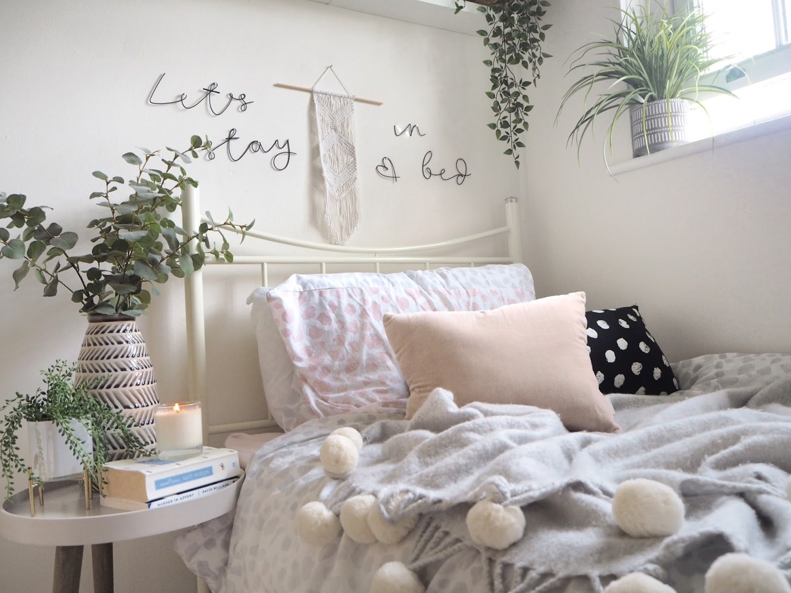 How to turn your university student room college dorm into a beautiful home from home, featuring storage tips, decoration ideas and tips on how to personalise a room