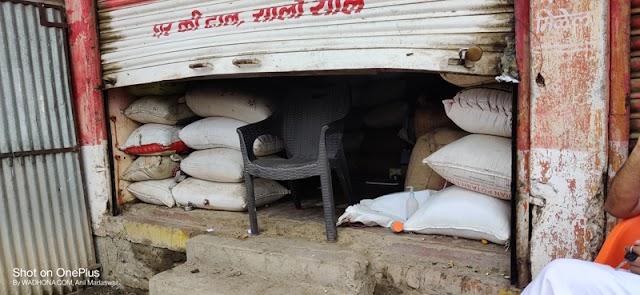 हिमायतनगरात भुसार दुकानाचे शटर वाकवून धाडसी चोरी -NNL