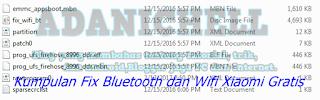 Kumpulan Fix Bluetooth dan Wifi Xiaomi Gratis