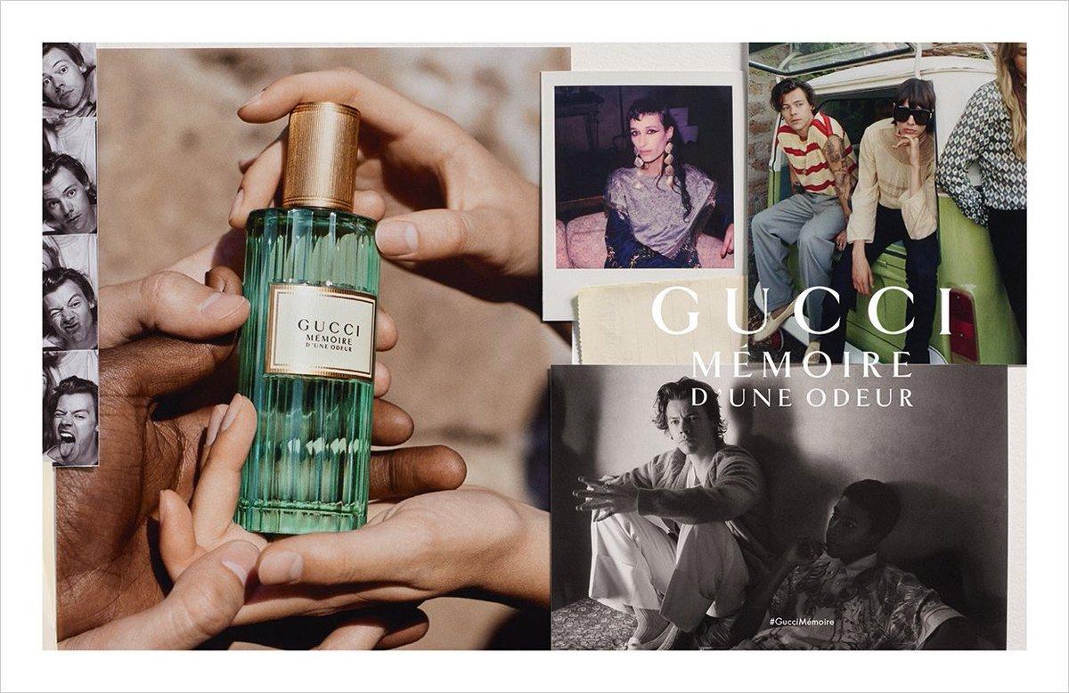 Historias de Perfumes: MÉMOIRE D'UNE ODEUR de Gucci. La viaje regresivo  supendido en el tiempo.