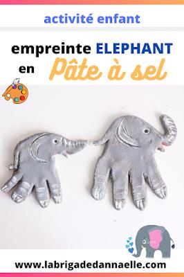 elephant en pate a sel