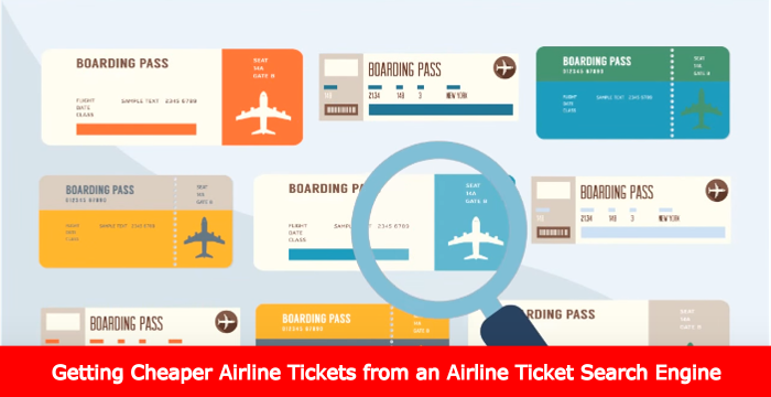 Getting Cheaper Airline Tickets from an Airline Ticket Search Engine