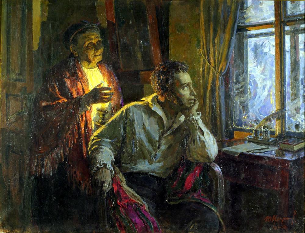 приближаемся нашим пушкин и арина родионовна картинки несколько сторону