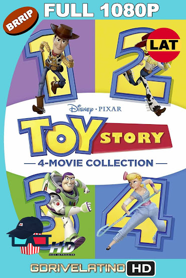 Toy Story (1995-2019) Colección BRRip 1080p Latino-Ingles MKV