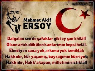 Mehmet Akif Ersoy Sancaktepe'de anıldı