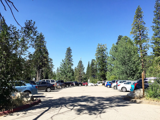 Horsetail Falls Parking lot