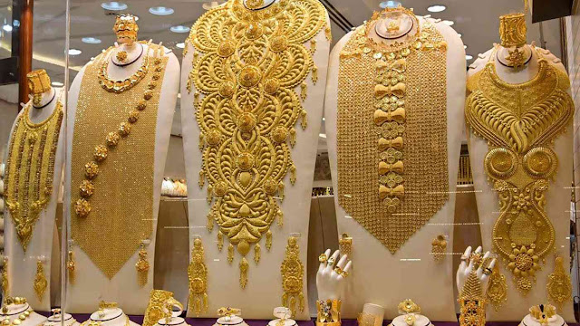 هبوط في اسعار الذهب