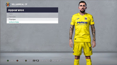 PES 2021 Tattoo Paco Alcacer by JokerTeam