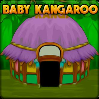 Games2Jolly Baby Kangaroo Escape