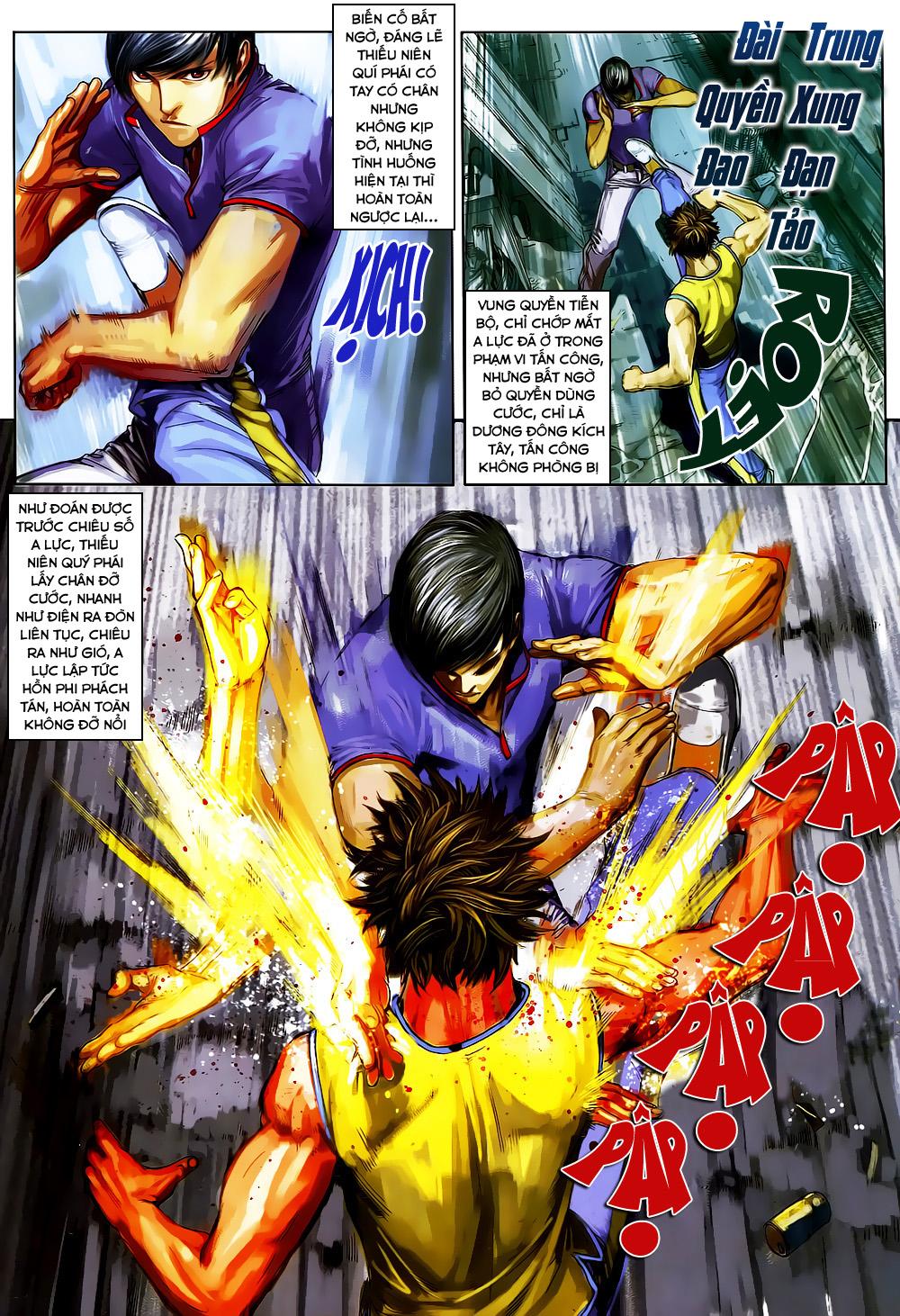 Quyền Đạo chapter 4 trang 20