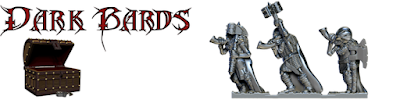 Huge thanks, the dark bards have been unlocked! These lead-free pewter models will be added to the Gods of the dead pack.