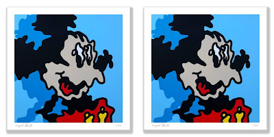 """Wiggle Mickey"" Main Edition Fine Art Print by Wizard Skull x Silent Stage Gallery"