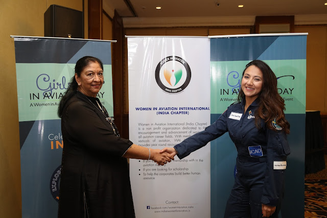 Radha Bhatia, President WAI (India Chapter) with Shaesta Waiz
