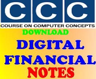 download CCC Digital Financial Hindi Notes