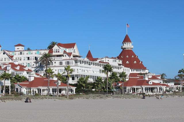 San Diego Hotel, hotel, Hotel del Coronado San Diego