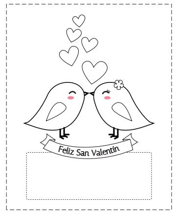 Bibliotecadonalvaro san valent n para escribir y colorear - Cartas de san valentin en ingles ...