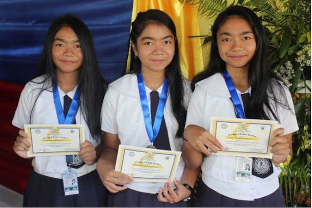 Triplets In Isabela Named The Top 3 Of Their Class! They Also Compete Against Each Other!