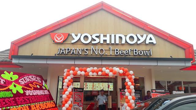 Makan di Yoshinoya Lampung, Yay or Nay?