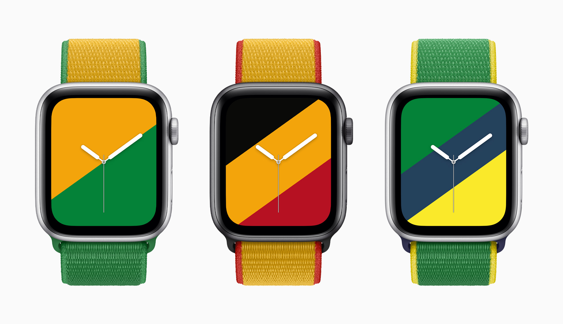 شركة أبل Apple تتألق بمجموعة أحزمة لساعاتها مستوحاة من دول العالم