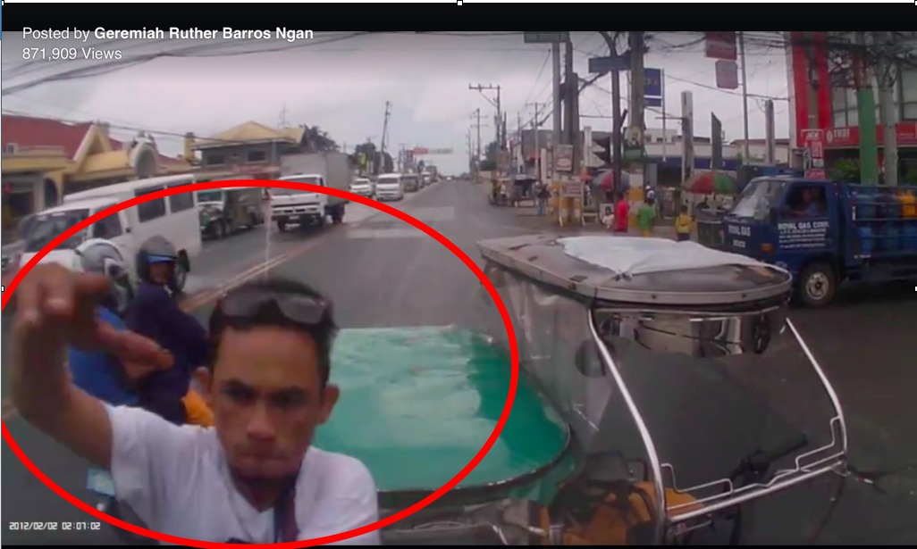 Tricycle driver attacks in road rage incident in Batangas