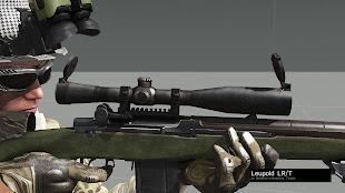 Arma3用武器MOD - Battle RifleパックのM14