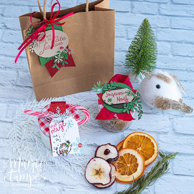Confectionnez des exfoliants maison comme cadeau avec vos produits Stampin' Up!