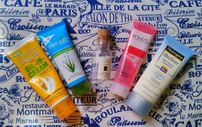 Skincare and Haircare Empties #1